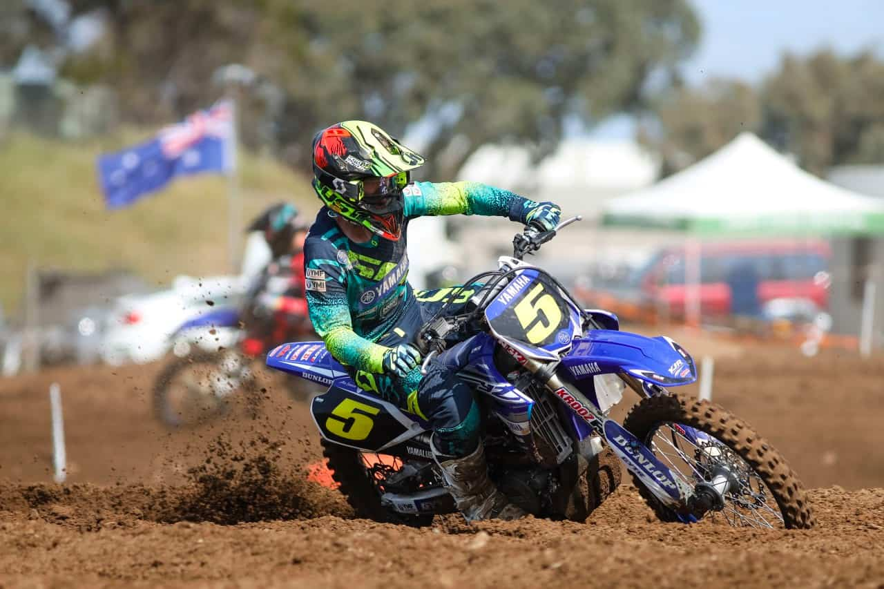 Larwood Leads YJR Charge at 2019 Junior Motocross Championships