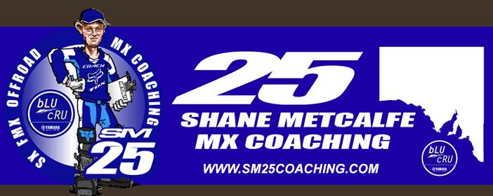 Shane Metcalfe Coaching - SM25 Coaching Logo
